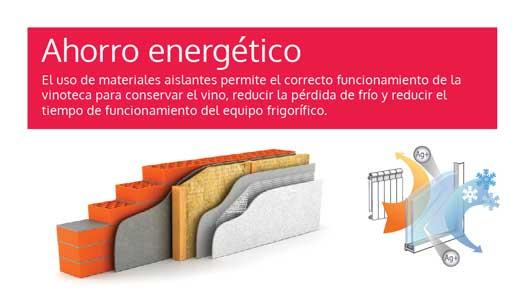 insulating panel wine bars