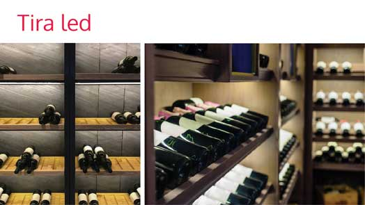 led wine strip